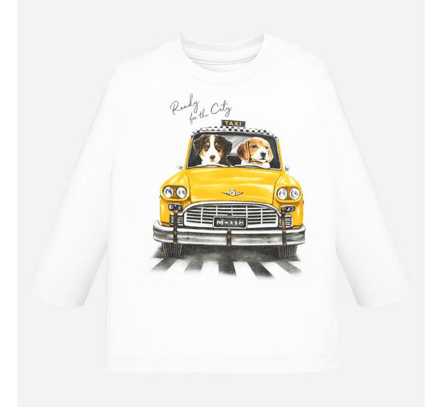 """2020L/s """"taxi"""" t-shirt"""
