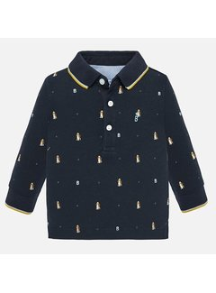 Mayoral 2106L/s printed polo