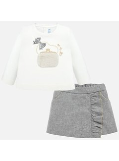 Mayoral 2208Bermuda shorts & shirt set