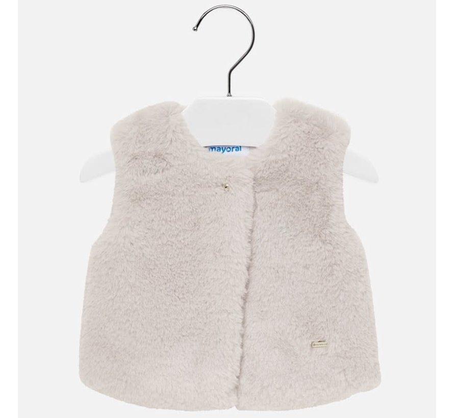 2317Fur vest