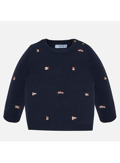 Mayoral 2319Embroidered sweater