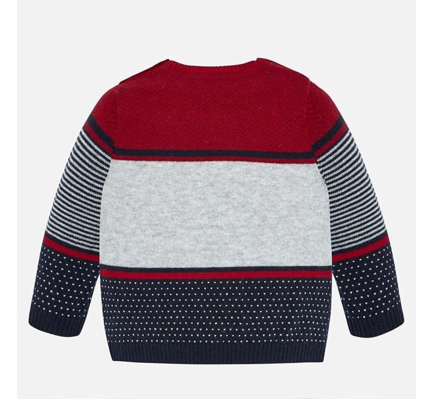 2322Striped sweater