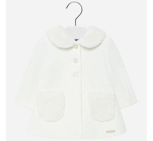 Mayoral 2426Knit dress coat