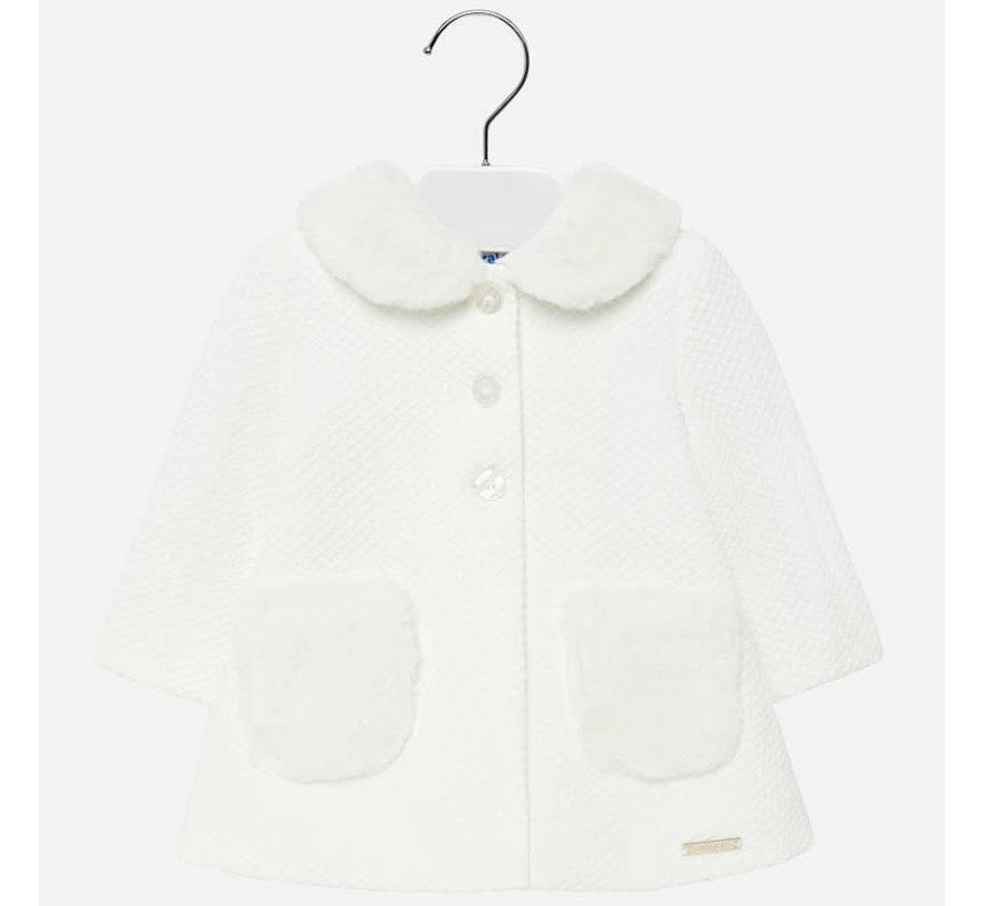2426Knit dress coat