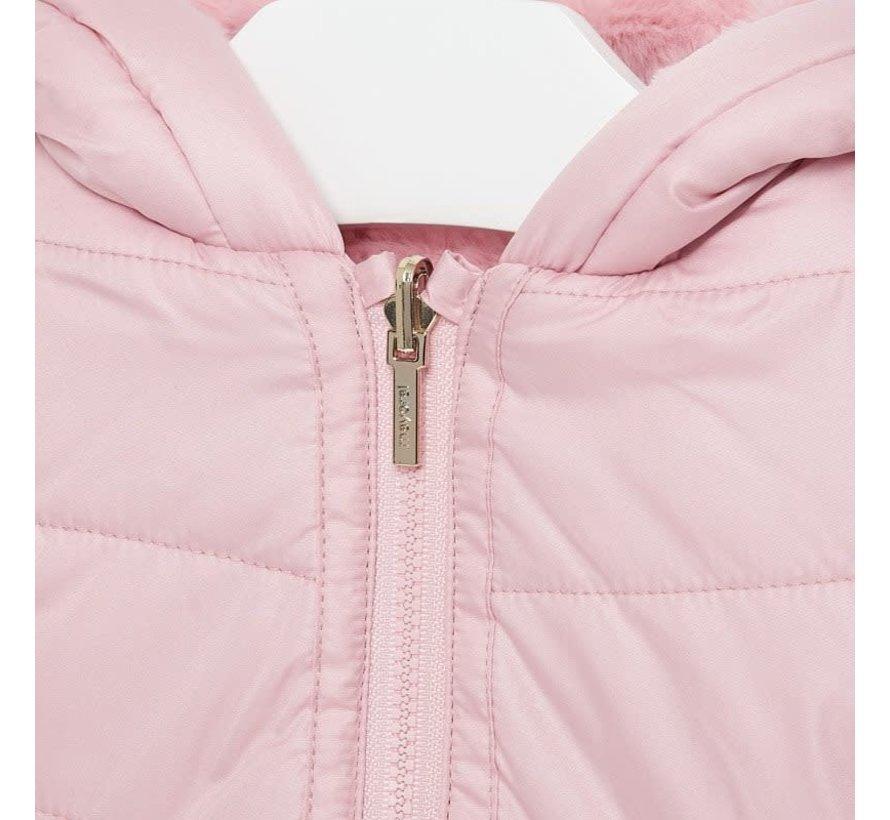 2433Reversible fur jacket