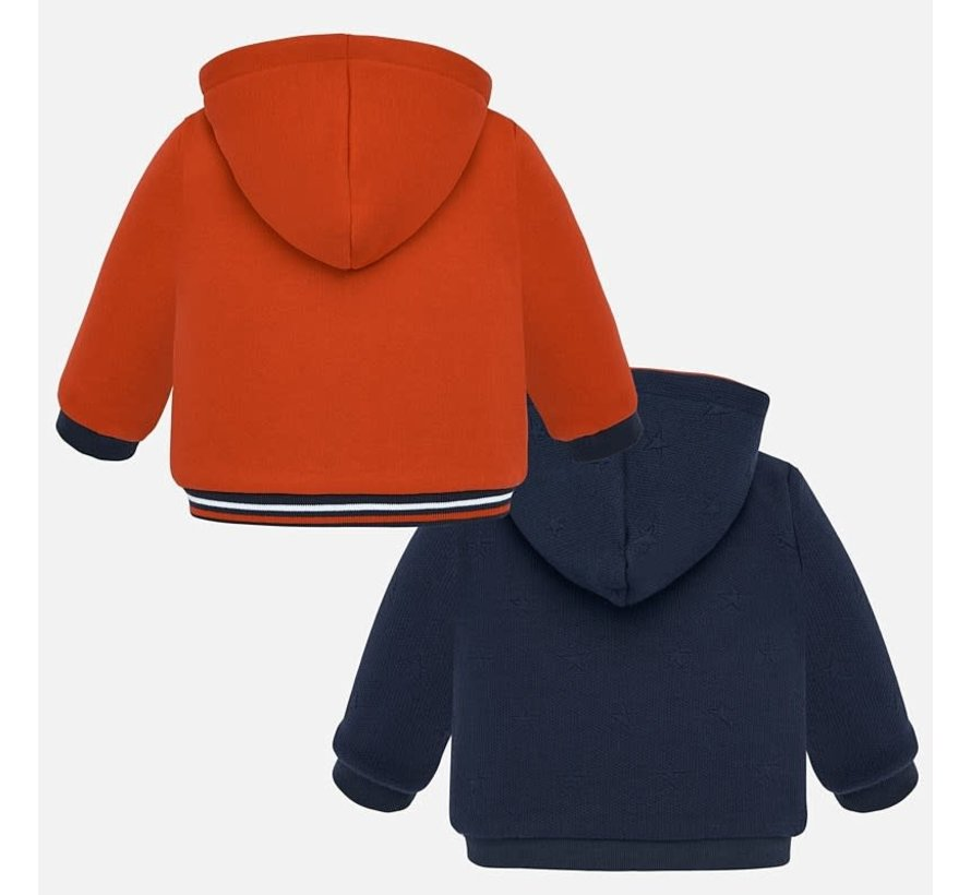 2455Reversible fleece pullover