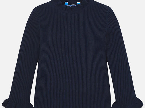 Mayoral 4003Tricot mock sweater