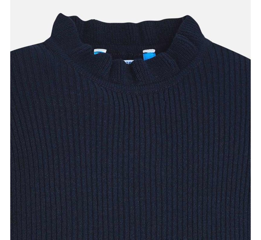 4003Tricot mock sweater