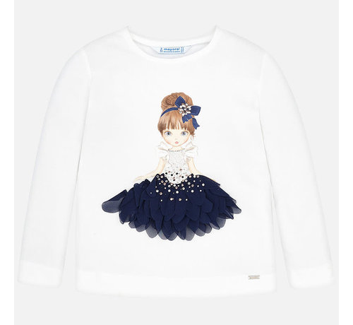 Mayoral 4008L/s t-shirt doll