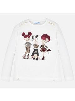 Mayoral 4013L/s Doll shirt