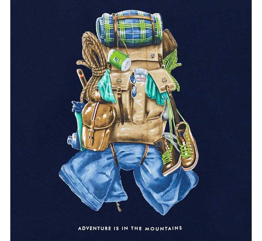 4034L/s backpack t-shirt