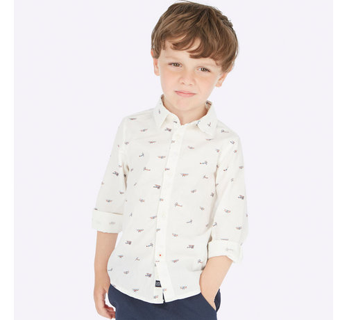 Mayoral 4121L/s shirt