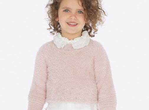Mayoral 4301Fur sweater
