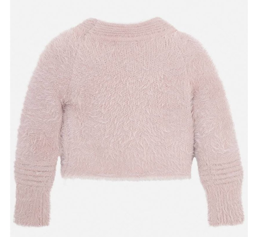 4301Fur sweater
