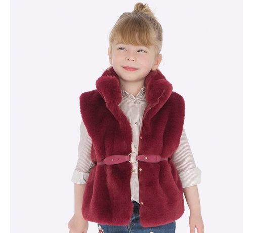 Mayoral 4307Fur vest