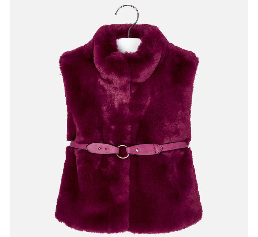 4307Fur vest