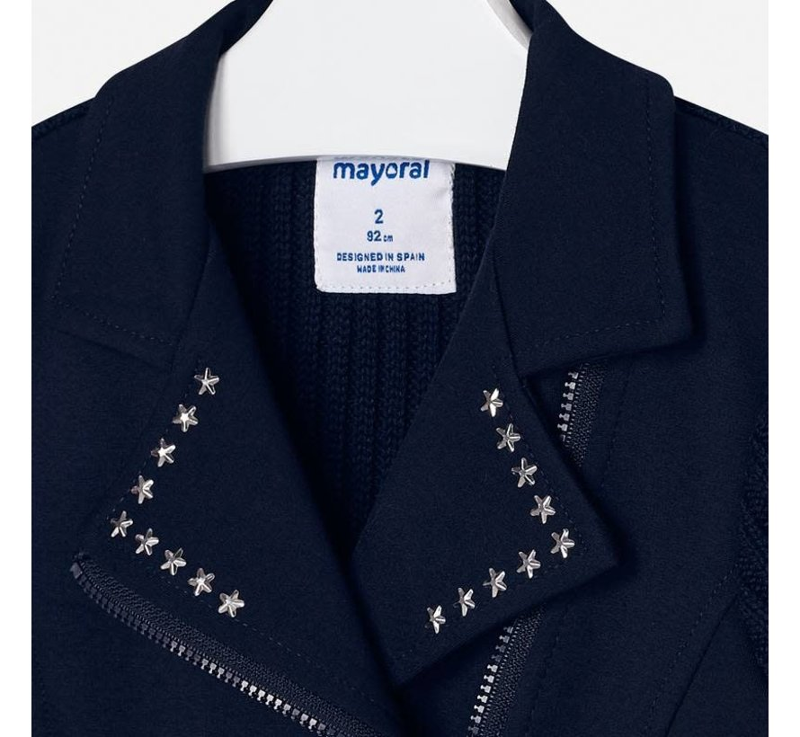4407Tricot jacket