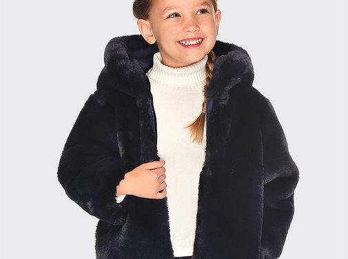 Mayoral 4422Reversible fur jacket