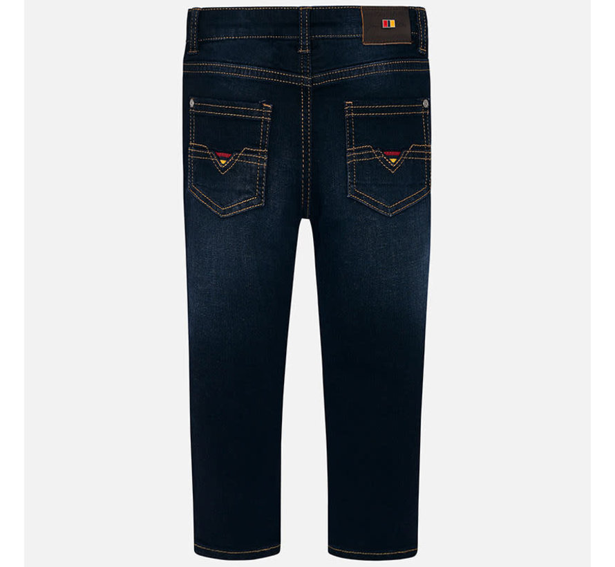 4514Super slim denim pants