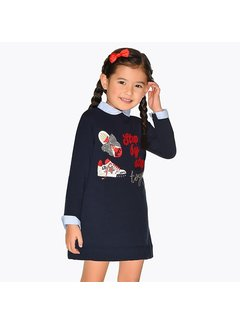 Mayoral 4944Embroidered dress
