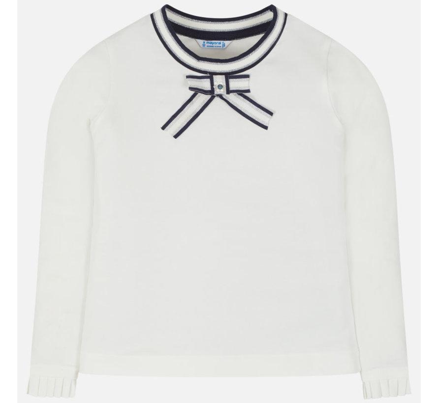 7007L/s t-shirt with applique