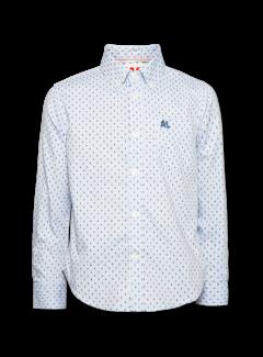 Ao76 219-2400-11button down square shirt