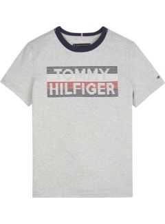 Tommy hilfiger pre KB05208 logo embroidered tee s/s