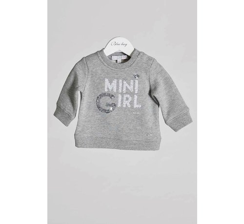 blue bay baby Sweater pomme
