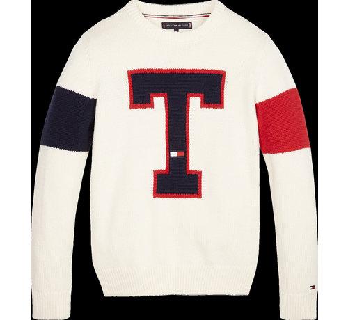 Tommy Hilfiger KB05086 h badge sweater