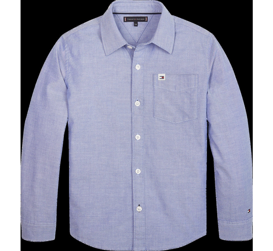 KB05093 solid oxford shirt
