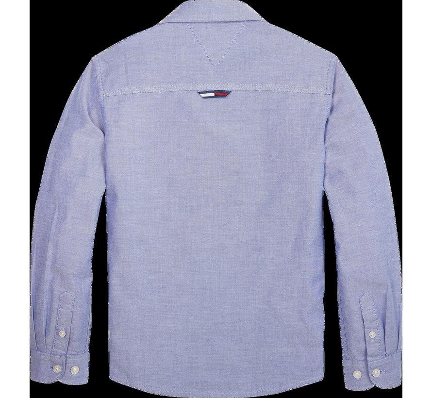 KB05093 solid oxford shirt