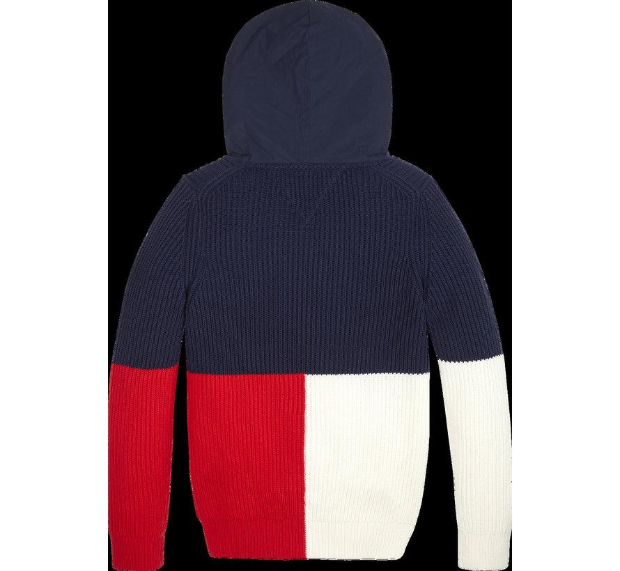 KB05289 Colorblock hoodie