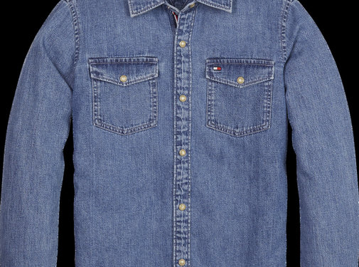 Tommy Hilfiger KB05094 boys basic shirt bmr