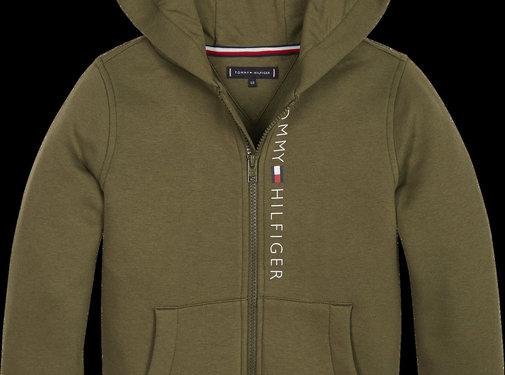 Tommy hilfiger pre KB04948 essential full zip hoodie set 1