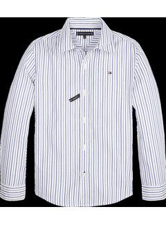 Tommy hilfiger pre KB05187 double effect stripe shirt l/s