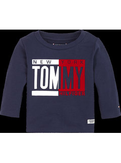 Tommy hilfiger pre KN01030 baby boy tommy tee l/s