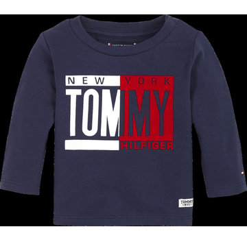 Tommy hilfiger pre KN01030 baby boy tommy tee l/s