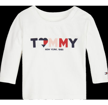 Tommy hilfiger pre KN01031 baby girl tommy tee l/s