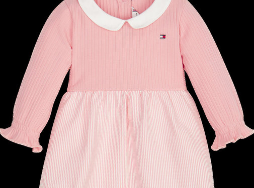 Tommy hilfiger pre KN01038 baby girl rib dress