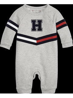 Tommy hilfiger pre KN01049 baby print coveral l/s