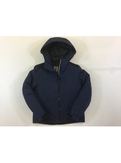 Anthony Morato MKCO00192 FA600147 coat wit hood and logo