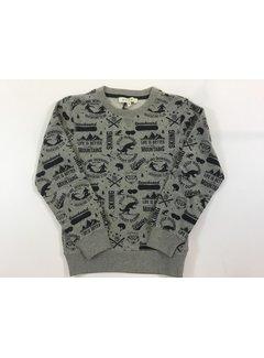 Scapa 9HBYDUNSKMUBCboys sweater dunn ski alloverl