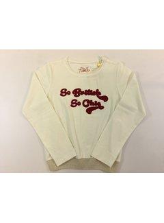 Pauline B C92MOUFFLETTE-M048t-shirt blousant+So British
