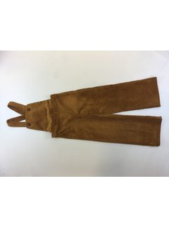 Pauline B C92HIPPO-F313Salopette pantalon velours cotele