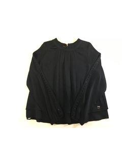 Pinko 1A11HW-Y5R1 falegname blusa georgette