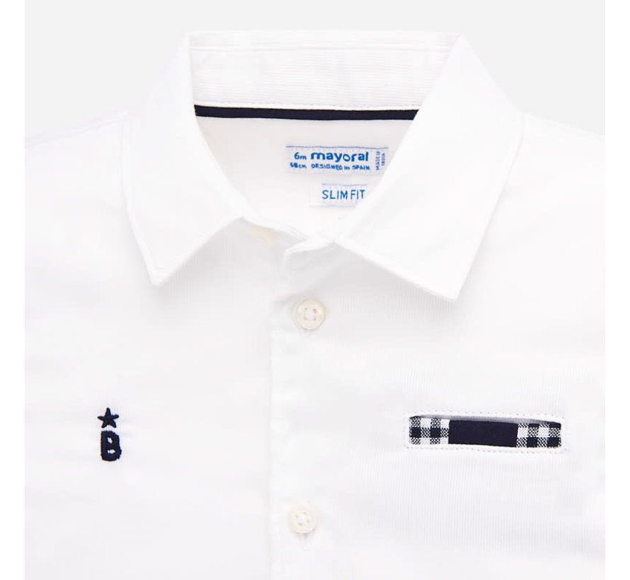 1157 T-shirt s/s contrast dress up