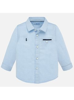 Mayoral 1164 L/s dress shirt