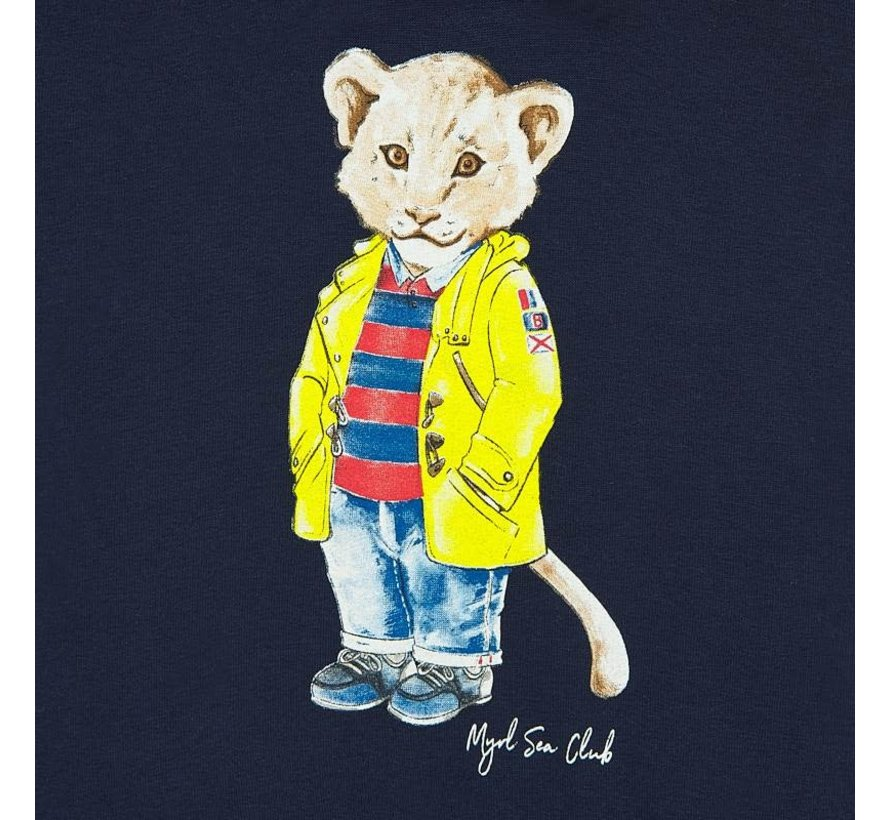 1451 lion pullover