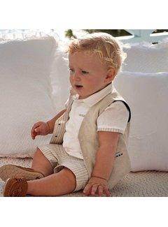 Mayoral 1465 dressy linen vest