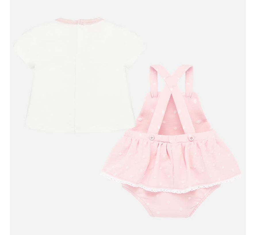 1683 skirt set onesie